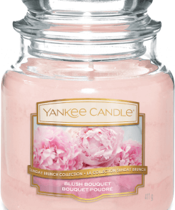Yankee Candle Collection 2019 Sunday Brunch: Bouquet Poudré / Blush Bouquet - Moyenne Jarre