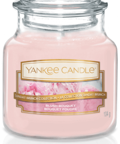 Yankee Candle Collection 2019 Sunday Brunch: Bouquet Poudré / Blush Bouquet - Petite Jarre