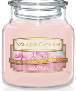 Yankee Candle Collection 2019 Sunday Brunch: Bouquet Poudré / Blush Bouquet - Petite Jarre