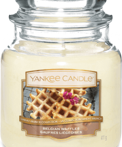 Yankee Candle Collection Sunday Brunch: Gaufres Liégeoises / Belgian Waffles - Moyenne Jarre