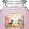 Yankee Candle Collection Sunday Brunch: Fleurs de Sucre / Floral Candy - Moyenne Jarre