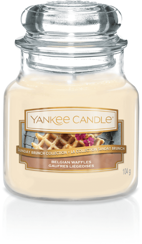 Yankee Candle Collection Sunday Brunch: Gaufres Liégeoises / Belgian Waffles - Petite Jarre