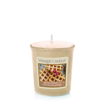 Yankee Candle Collection Sunday Brunch: Gaufres Liégeoises / Belgian Waffles - Votive