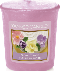 Yankee Candle Collection Sunday Brunch: Fleurs de Sucre / Floral Candy - Votive