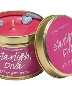 startlight Diva, bougie métal bomb coesmtics startlight Diva
