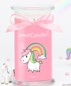 bougie parfumée Unicorne Jewelcandle