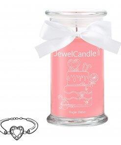 Sugar babe jewelcandle, bougie parfumée avec bijoux